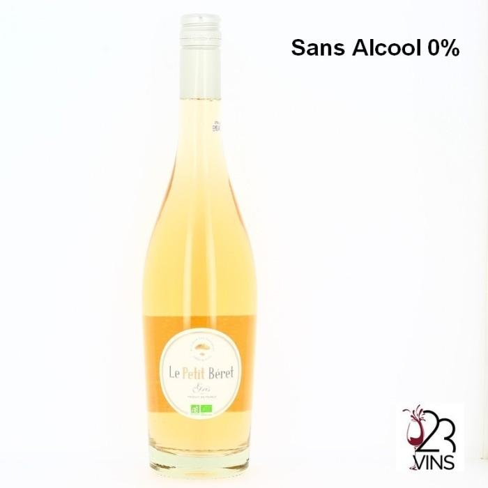 LE PETIT BERET ROSE Sans Alcool 75 cl