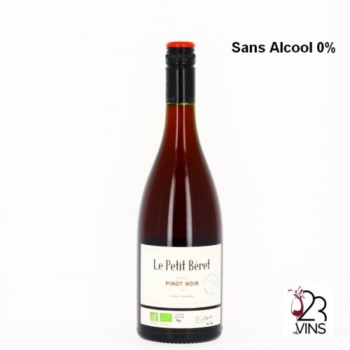 LE PETIT BERET PINOT NOIR Sans Alcool 70 cl