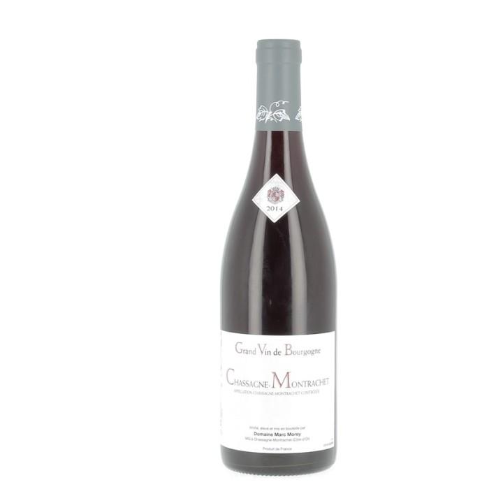 Bouteille de vin rouge Chassagne-Montrachet 2014