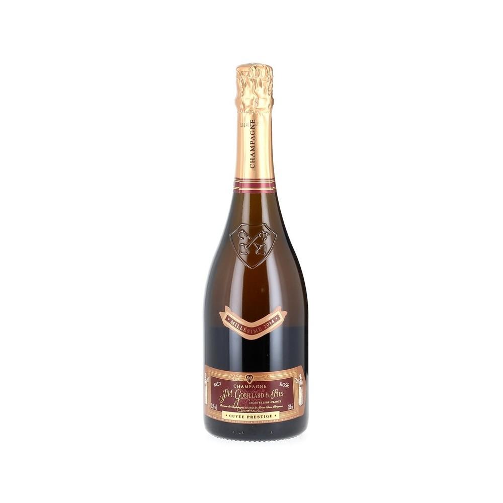 Champagne Rosé cuvée Prestige - Maison J.M Gobillard et Fils