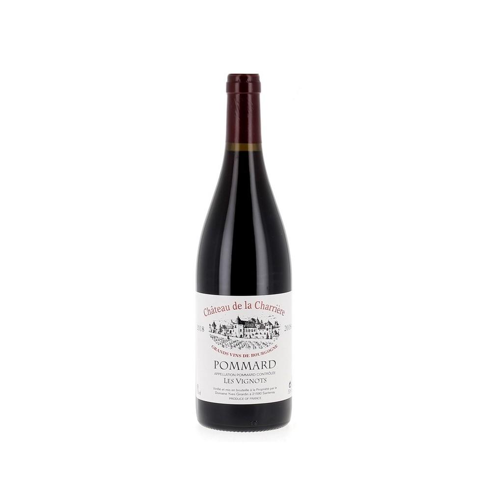 POMMARD AOP Château de la Charrière Les Vignots Rouge 2018