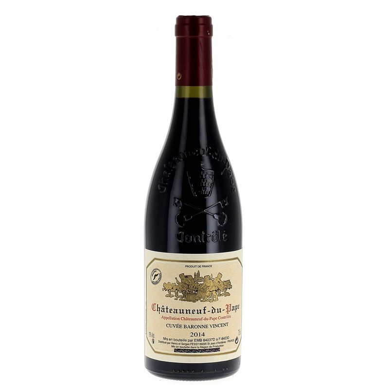 Châteauneuf du Pape 2014 Rouge - Domaine Henry Fessy