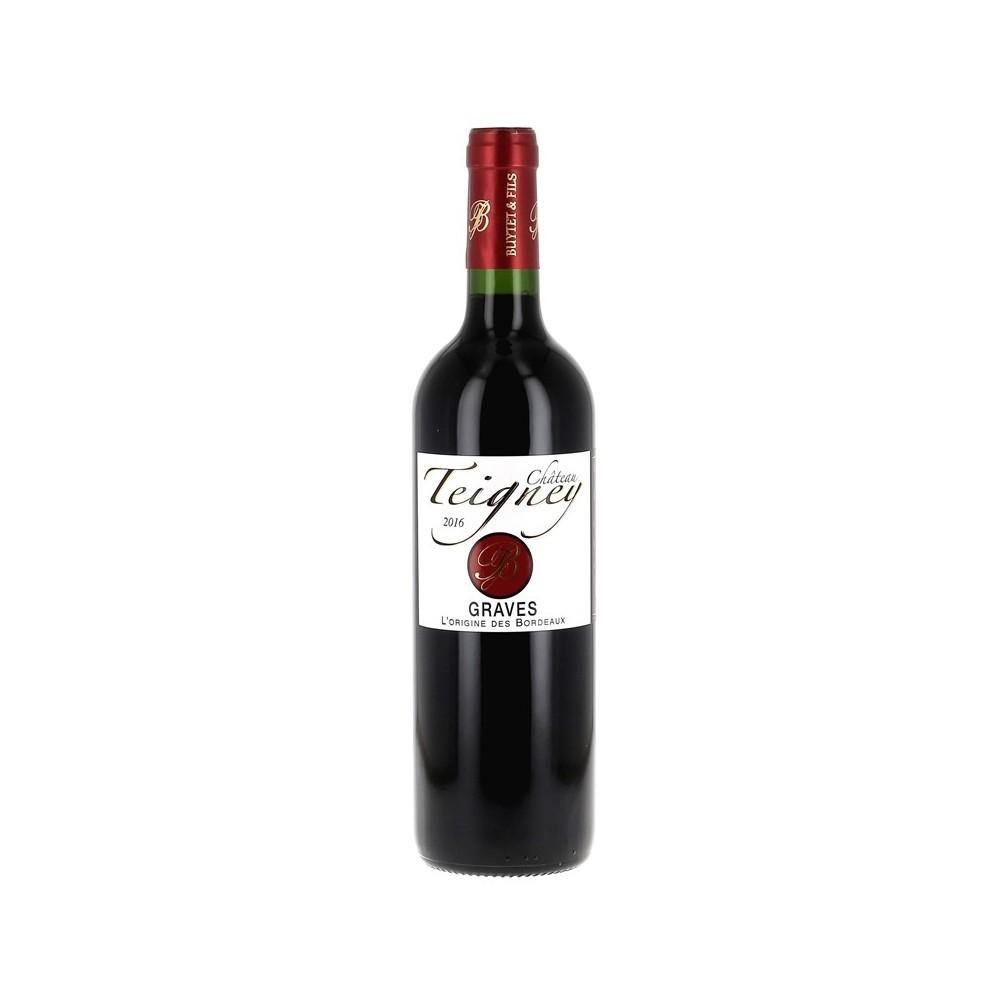 Vin rouge Château Teigney 2016