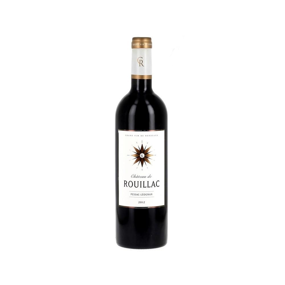 Vin rouge Château de Rouillac 2012 - Pessac Léognan