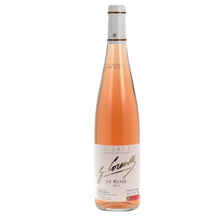 Pinot d'Alsace Noir Rosé 2017 de la maison Gustave Lorentz