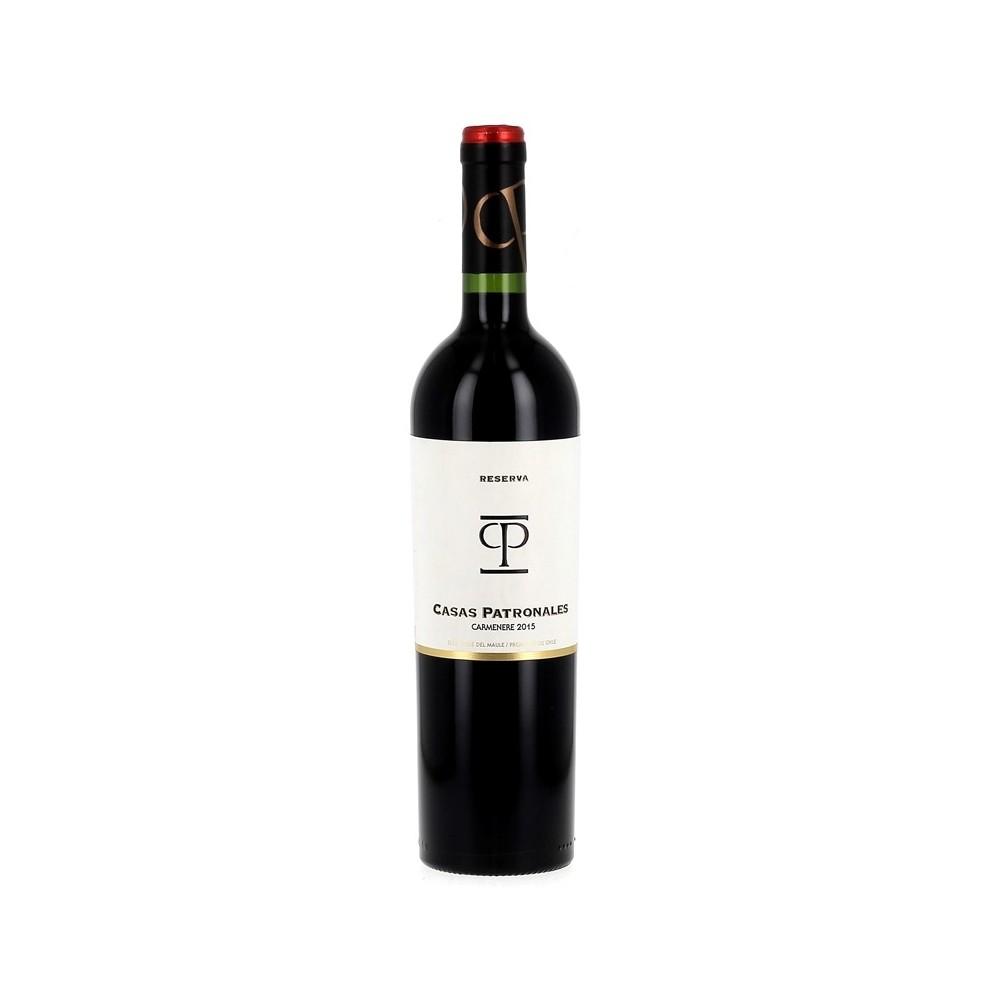 Vin rouge Casas Patronales - Carménère Reserva - 2015