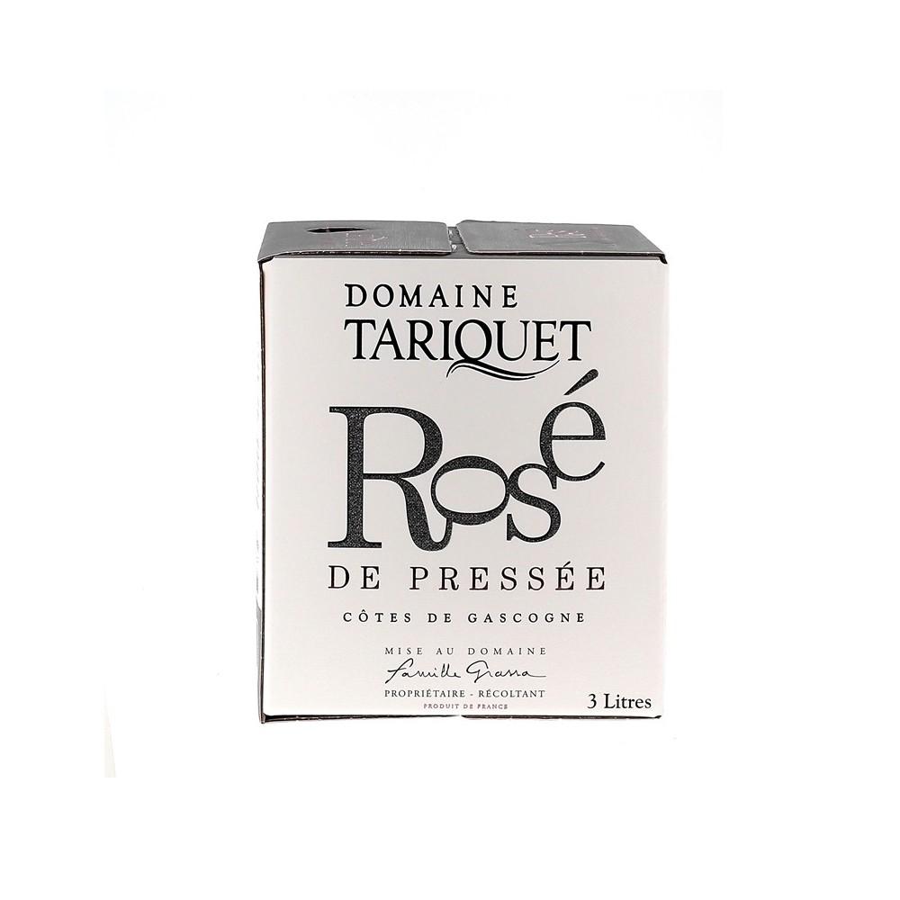 Rosé de Pressée 2020 - Domaine du Tariquet - BIB