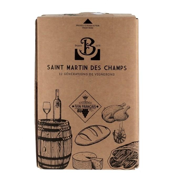 Château St Martin des Champs - AOP Saint Chinian -  Rouge 5 litres