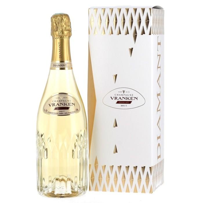 Champagne Diamant Brut - Vranken - avec étui