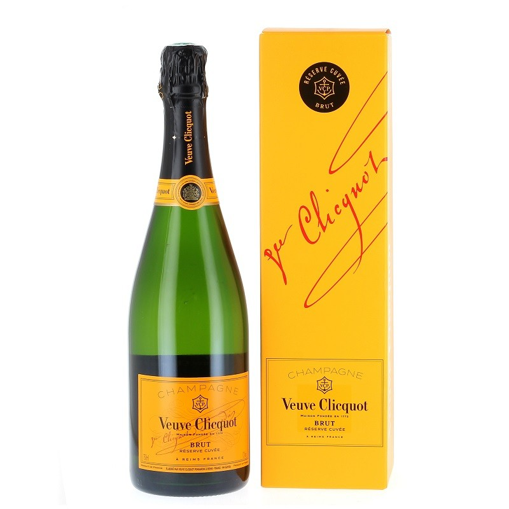 Champagne Veuve Clicquot...