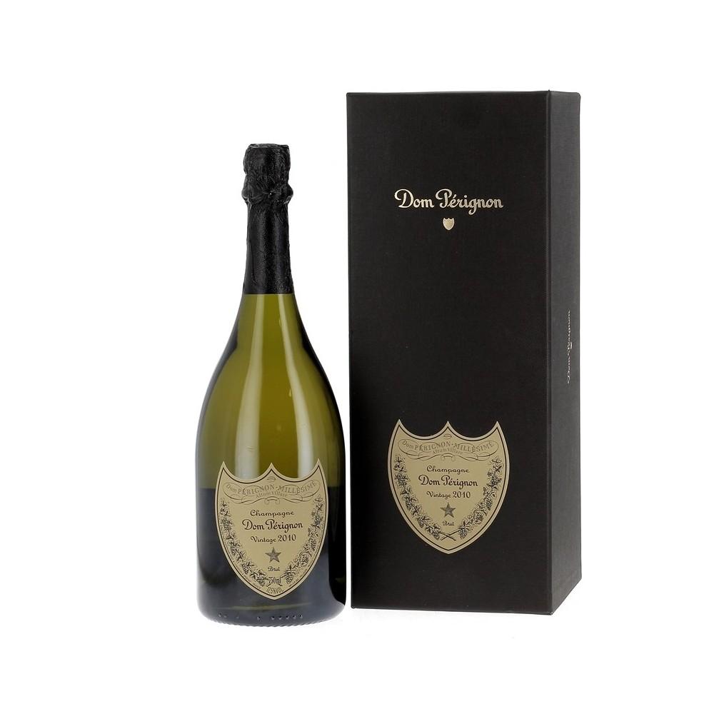 Champagne Dom Pérignon Vintage 2010, en coffret