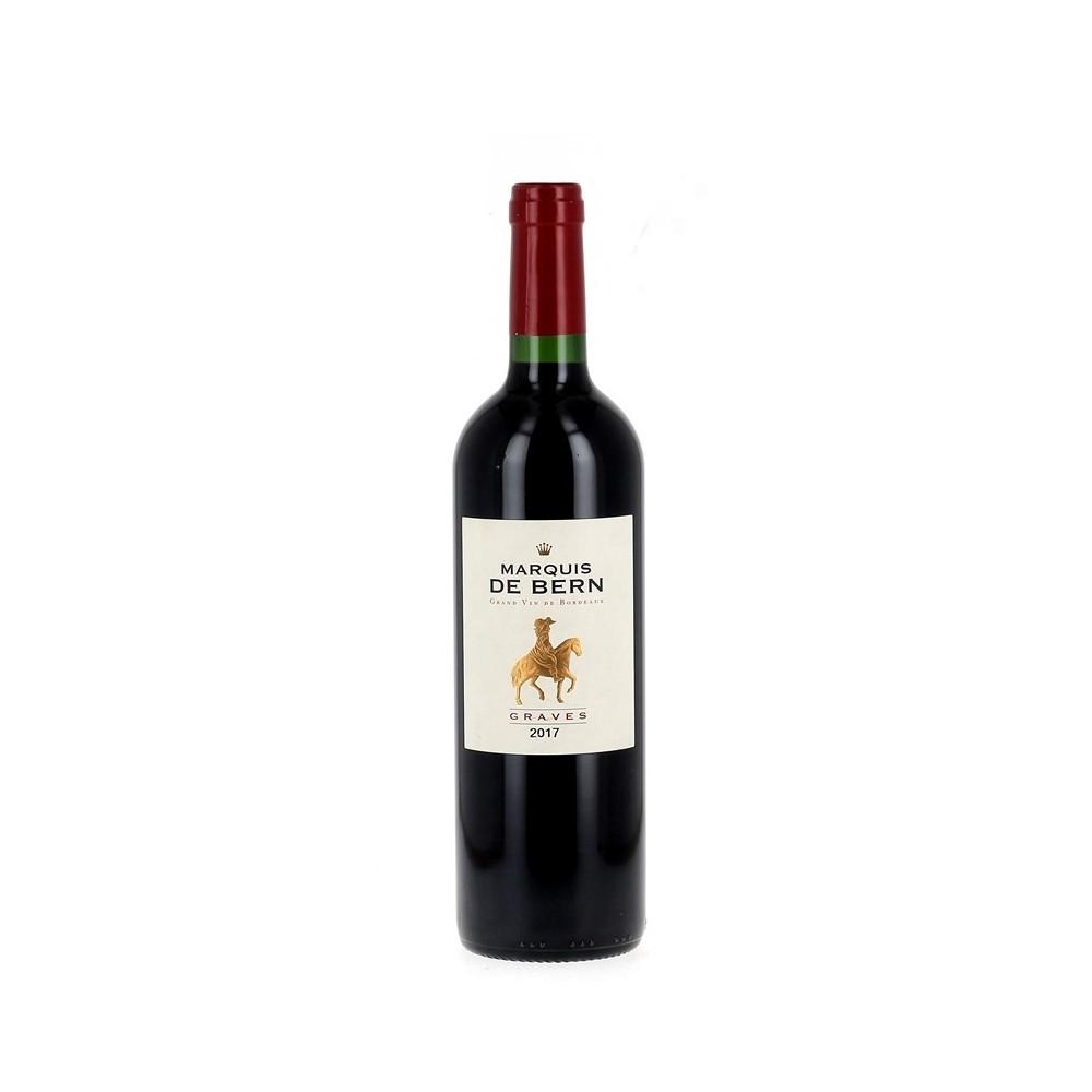 Vin rouge Graves 2017