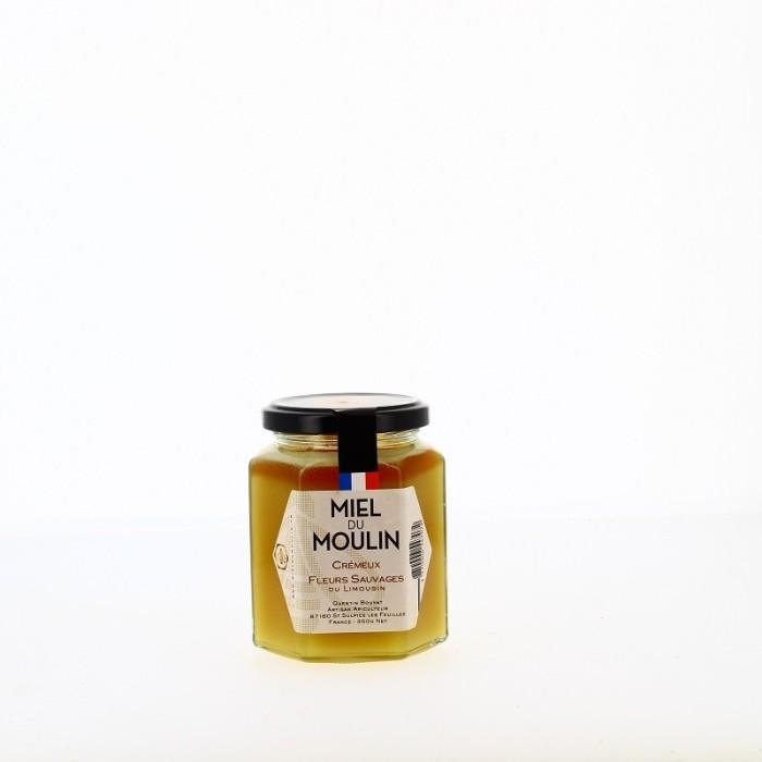Miel du Moulin Fleurs Sauvages du Limousin Crémeux 350 gr