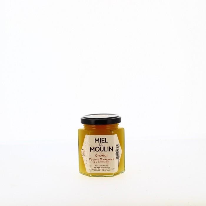 Miel du Moulin Fleurs Sauvages du Limousin Crémeux 250 gr